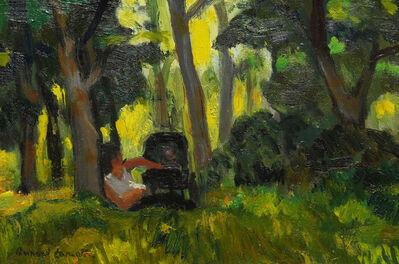 Bernard Lamotte, 'Woman Attending Her Baby in a Park', 20th Century