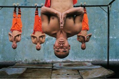 Steve McCurry, 'Shaolin Monks Training, China', 2004