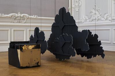 Latifa Echakhch, 'Encrage (Le carton de vinyles) ', 2014