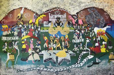 Umar Rashid (Frohawk Two Feathers), 'Un dimanche après-midi à l'Île de la gouverneurs. Or, Borough Check. The old money don't want a new world so the Revolution had to get sabotaged somehow. Murder was the case. And Horus wept. 1793.', 2016