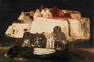 Salvatore Fiume, 'Isola di statue', 1961