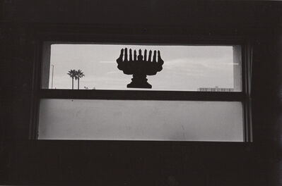 Ed Sievers, 'Untitled (Menorah in window), California', ca. 1970s