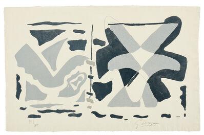 Georges Braque, 'Fenêtre II : oiseau gris ', 1962