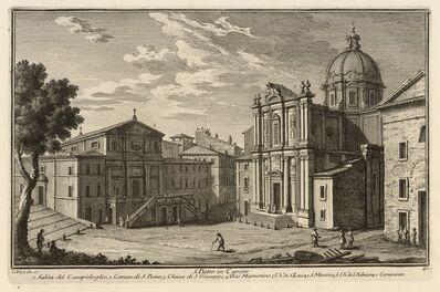 Giuseppe Vasi, 'S. Pietro in Carcere', 1747