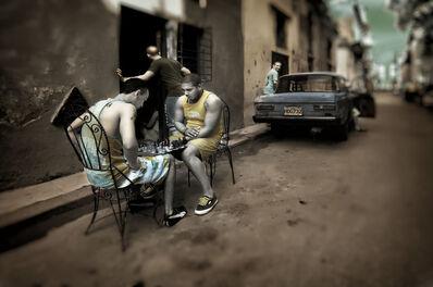 E.K. Waller, 'Street Chess', 2013
