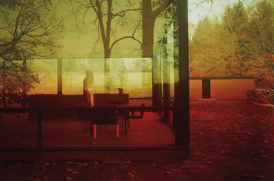 James Welling, 'Untitled #0696 (Glass House)', 2006
