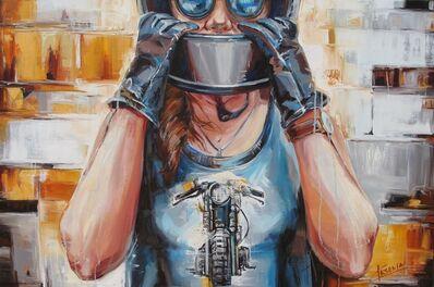 Ksenia Kolesnikova, 'Girl in gloves', 2019