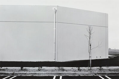 Lewis Baltz, 'South Wall, Unoccupied Industrial Structure, 16812 Milliken, Irvine, #19 from The New Industrial Parks near Irvine, California', 1974