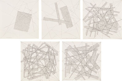 Sol LeWitt, 'The Location of Lines (K. 1975.06)', 1975