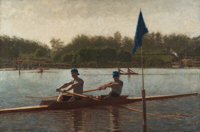 Thomas Eakins, 'The Biglin Brothers Turning the Stake', 1873
