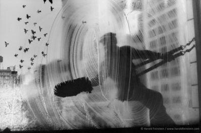 Harold Feinstein, 'Window Washer', 1974
