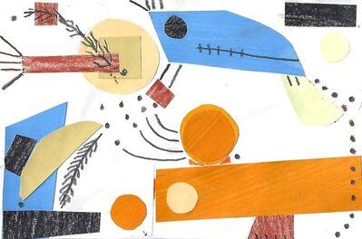 Naomi Nemtzow, 'Quarantine Collage with Feathers', 2020