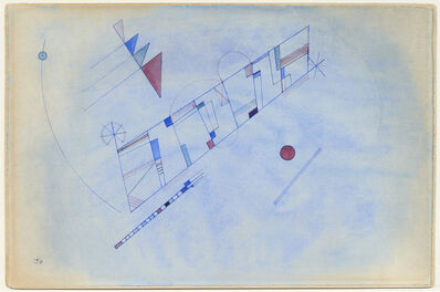 Wassily Kandinsky, 'De courbe à courbe (From curve to curve)', 1933