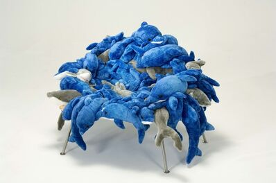 Estudio Campana, 'Dolphins and Sharks Banquette Chair', 2002