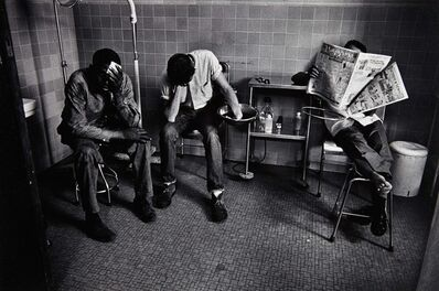 Charles Harbutt, 'Three Men Waiting, Emergency Room, St. Vincent's, NYC', 1961