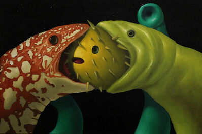 Alan Gerson, 'Moray Eels and Blowfish', 2017