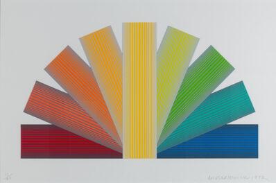 Richard Anuszkiewicz, 'Grey Tinted Rainbow', 1992