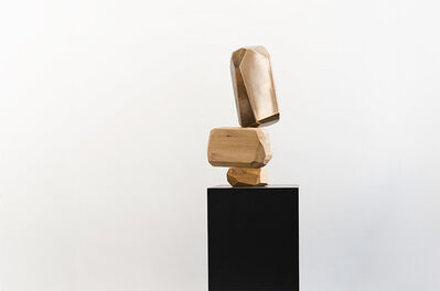 ARIK LEVY, 'MicroRockFormation Bronze Liquid', 2018