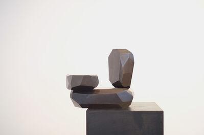 ARIK LEVY, 'MicroRockFormationBronze 2', 2014
