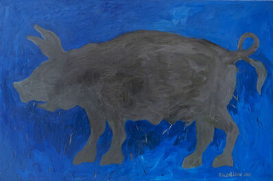 Vincent Leow, 'Grey Pig', 2012