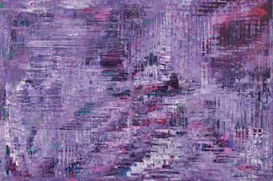 Sassan Behnam-Bakhtiar, 'Purple energy Rising', 2017