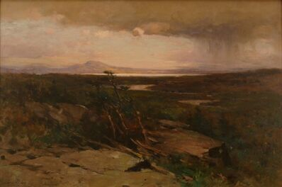 George Henry Smillie, 'A Reminiscence of the North Woods', ca. 1900