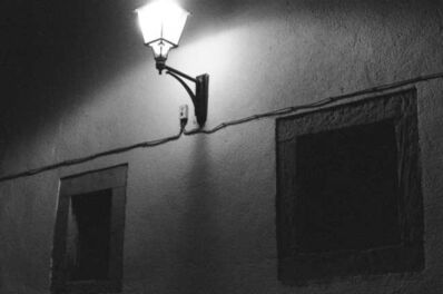 Orlando Shamlou, 'Street Lamp, Cimavilla', 2019