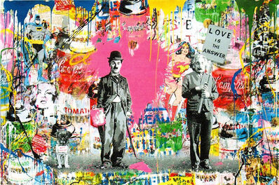 Mr. Brainwash, 'Juxtapose (P203323)', 2018