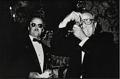 Jean Pigozzi, 'Jack Nicholson and Willy Rizzo, Venice, Italy, 1991', 1991