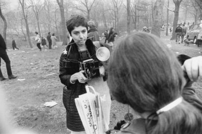 "Garry Winogrand, 'Diane Arbus, ""Love-In"", Central Park, New York City', 1967"