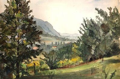 Jacqueline Barbet, 'Natural Green Landscape', Beginning of 20th century