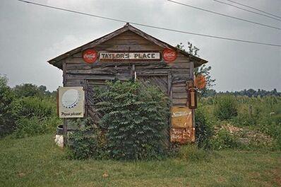William Christenberry, 'Taylor's Place, Near Greensboro, Alabama', 1974