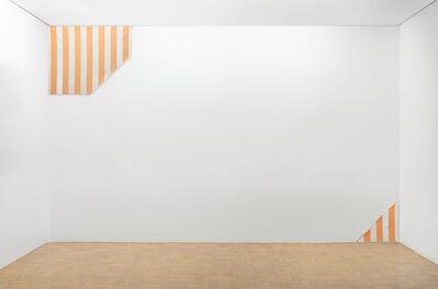 Daniel Buren, 'Une peinture en deux–trois placements possibles, travail situé', 1971/1977