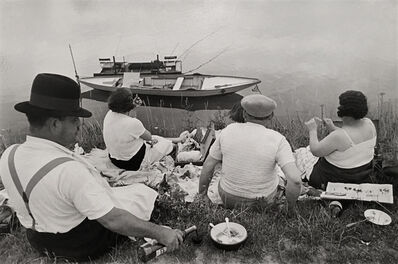 Henri Cartier-Bresson, 'Banks of the Marne ', 1938