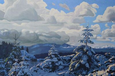 Clayton Anderson, 'Winter Vista - Strathcona', 2021