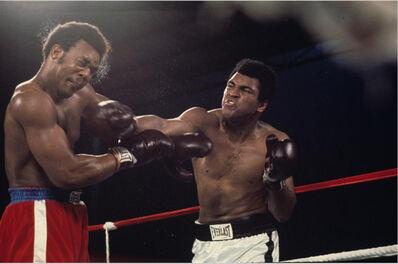 Ken Regan, 'Muhammad Ali in action verse heavyweight champion George Foreman, Kinshasa, Zaire', 1974