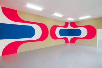Jan van der Ploeg, 'Wall Painting No.358 - MWMW', 2013