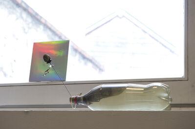 Julien Creuzet, 'Fenêtre. Je me sens trou noir, aspirant la moindre étincelle (...)', 2014
