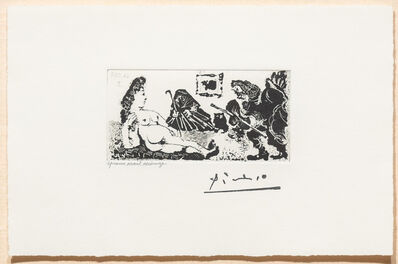 Pablo Picasso, 'Vieux Beau Saluant Tres..., from the 347 Series', 1968