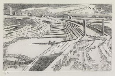 Paul Nash, 'The Wall, Dymchurch', 1920