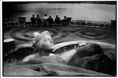 Erich Hartmann, 'jardin du Luxembourg, unique vintage print', 1970-1980