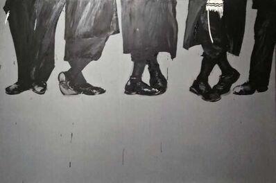 Aldo Mondino, 'Sit in a Mea Sharin', 1988-89