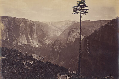 Carleton E. Watkins, 'Best General View, Yosemite', ca. 1867