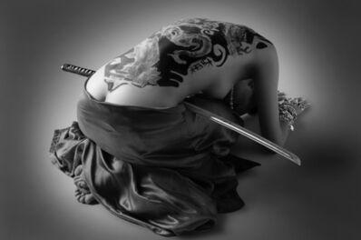 Hervé Lewis, 'Nu geisha penchée au sabre', 2015