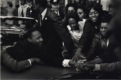 Leonard Freed, 'The Return of Martin Luther King Jr. After Receiving Nobel Peace Prize, Baltimore, Maryland', 1964