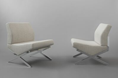 Pierre Guariche, 'Pair of chairs SS1', 1959/1960