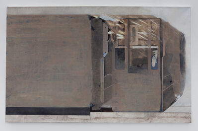 Edi Hila, 'Open Museum Series (#2)', 2017