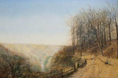 John Atkinson Grimshaw, 'Late Afternoon on the Esk, near Lealholm', ca. 1880