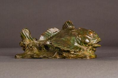 Paul W. Bartlett, 'Sculpin Fish', 1896