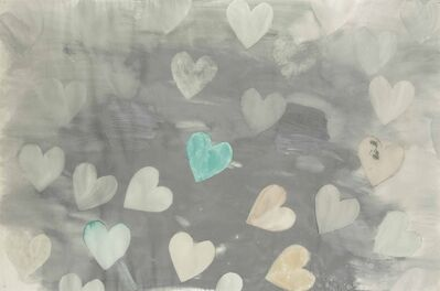 Jim Dine, 'Heart Drawing J'
